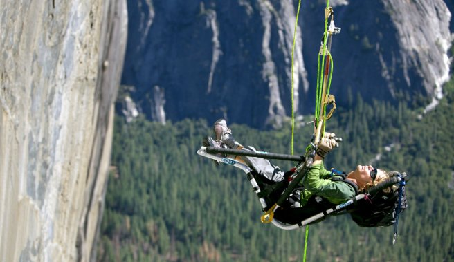 Stephen J Wampler Climbing El Capitan at Yosemite National Park